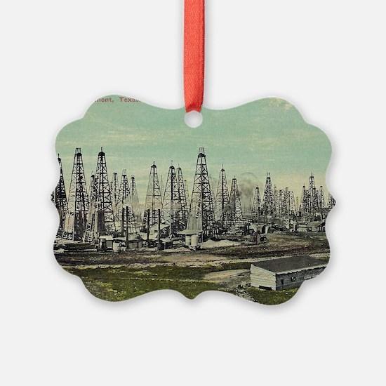 Oilfield, Beaumont Texas Ornament