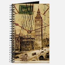 vintage london big ben Journal