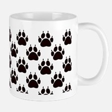 Cat Paw Prints Mug