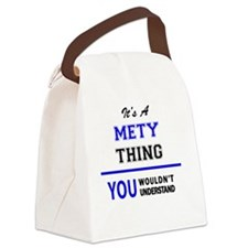 Funny Metis Canvas Lunch Bag