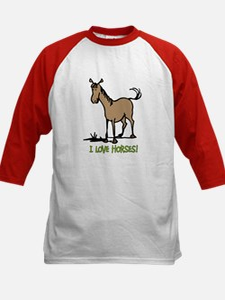 I love horses cute Tee