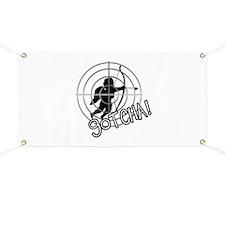 Anti Cupid Bullseye - Unvalentine Banner