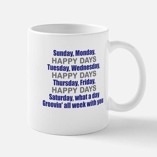Happy Days Theme Mug