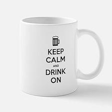 Keep calm and drink on Mugs