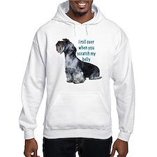 cesky terrier belly Hoodie