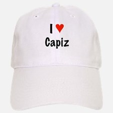 I love Capiz Baseball Baseball Cap