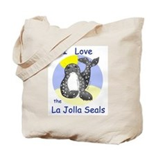 La Jolla Seals Tote Bag