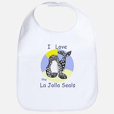 La Jolla Seals Bib