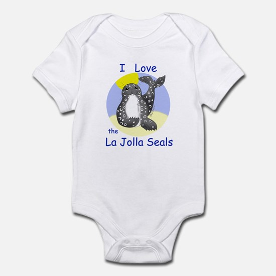 La Jolla Seals Infant Bodysuit