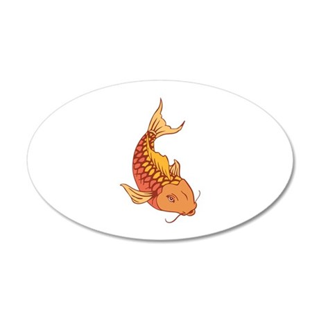 Koi fish wall decal by greatnotions23 for Koi fish wall stickers