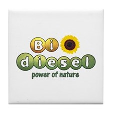 Biodiesel Tile Coaster