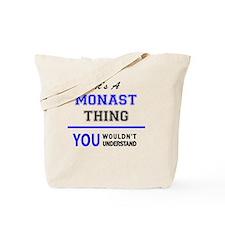 Cool Monastic Tote Bag