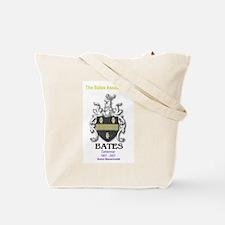 Tote Bag with Bates Logo