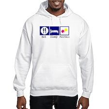 Eat, Sleep, Paintball Hoodie Sweatshirt