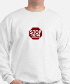 Stop Eating Animals Sweatshirt