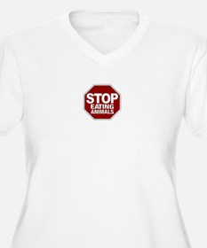 Stop Eating Animals T-Shirt