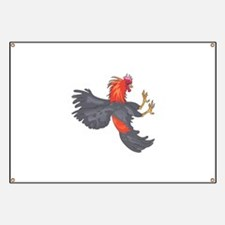 FIGHTING COCK Banner