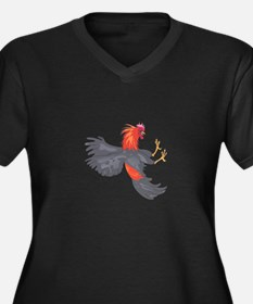 FIGHTING COCK Plus Size T-Shirt