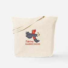 FIGHTING GAMECOCKS Tote Bag
