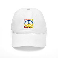 Peace Symbol Ukraine Baseball Cap