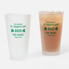 Personalized Pub Crawl Drinking Glass