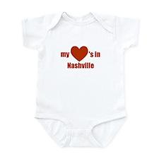 Nashville Infant Bodysuit