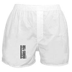 Dobies Rule Doberman Pinscher Boxer Shorts