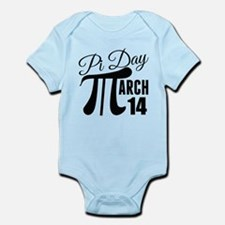 Pi Day March 14 Infant Bodysuit