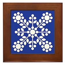 Wedgewood Rose Blue Framed Tile
