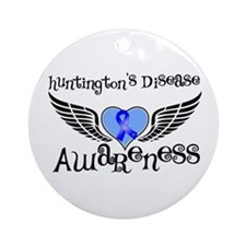 Huntington Disease Ornament (Round)