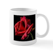 Red Rose Sideways Mug