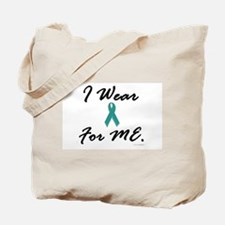 I Wear Teal For Me 1 Tote Bag