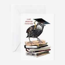 Back to School Starling Greeting Cards (Pk of 10)