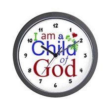 Child Of God Wall Clock