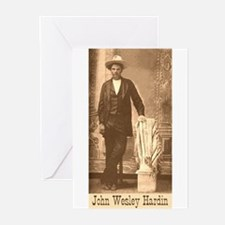 John Wesley Hardin Greeting Cards (Pk of 10)