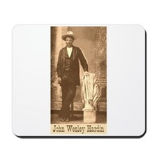 John Wesley Hardin Mousepad