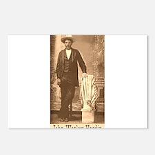 John Wesley Hardin Postcards (Package of 8)