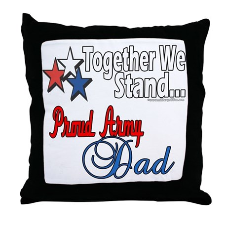 Army Father Throw Pillow