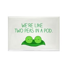 Peas in a Pod Magnets