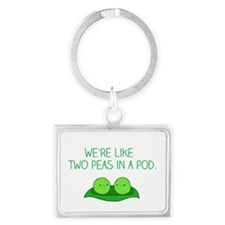 Peas in a Pod Keychains