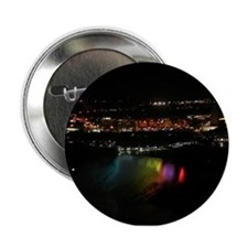 Niagara Falls At Night Button