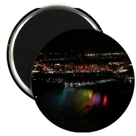 "Niagara Falls At Night 2.25"" Magnet (100 pack)"