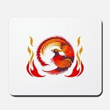 PHOENIX RISING FROM FLAMES Mousepad