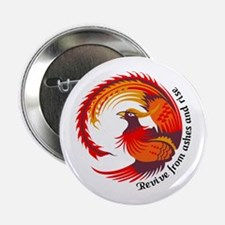 """REVIVE FROM ASHES AND RISE 2.25"""" Button (10 pack)"""