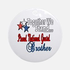 National Guard Brother Ornament (Round)