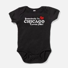 Cool Someone in ohio loves me Baby Bodysuit