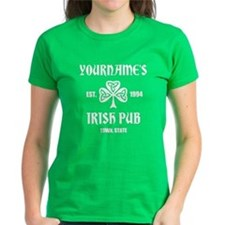 Personalized Irish Pub T-Shirt