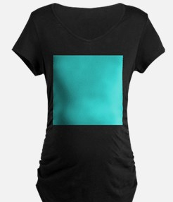 modern abstract teal Maternity T-Shirt
