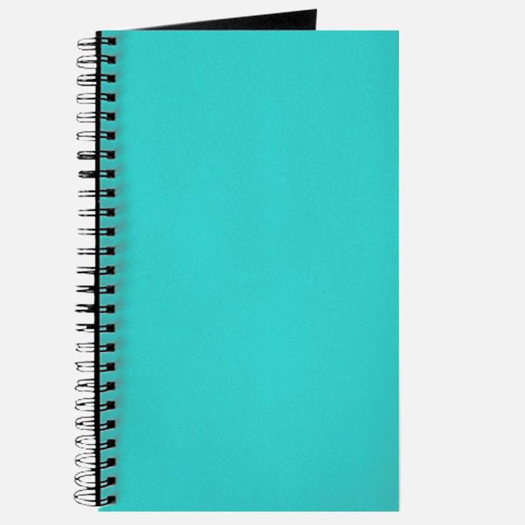 modern abstract teal Journal
