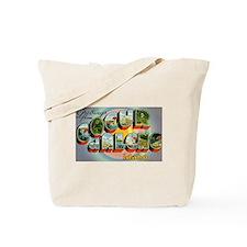 Coeur d'Alene Idaho Tote Bag